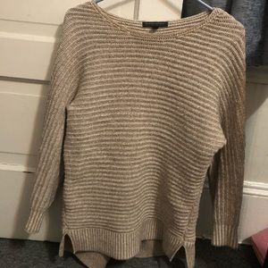 XS light brown banana republic sweater